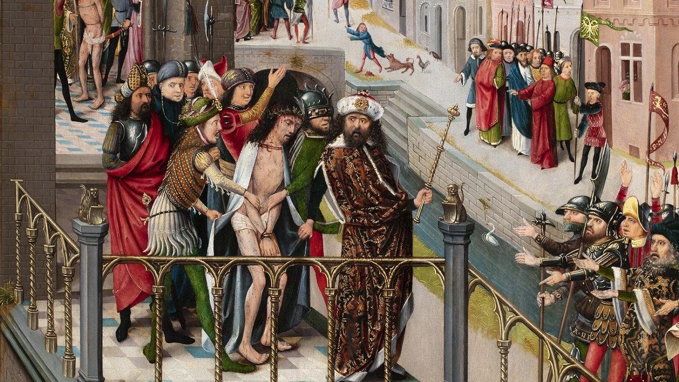 Taferelen uit het lijden van Christus, Rijnland, circa 1490-1500