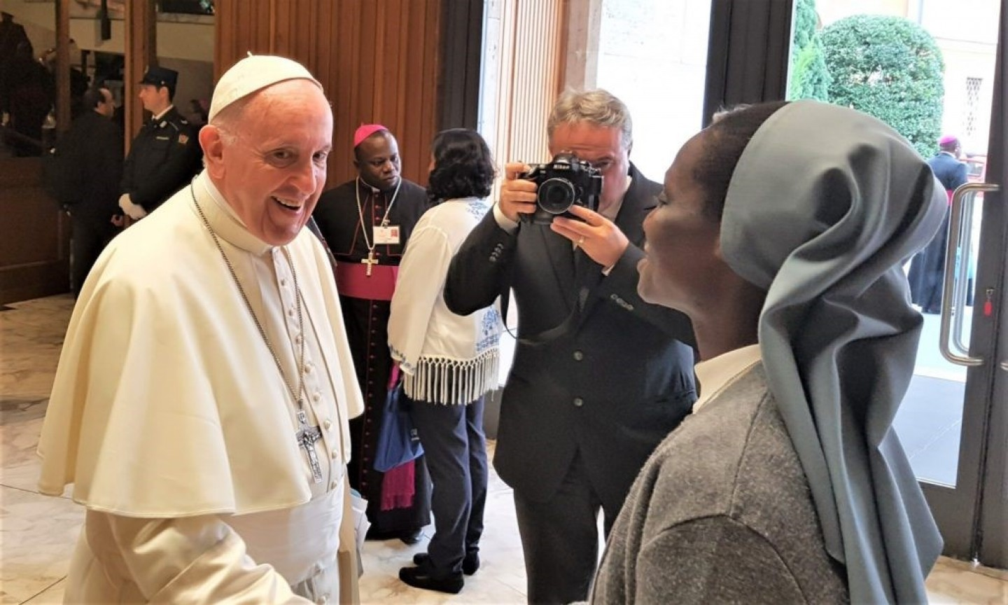 Paus Franciscus opening Synodaal proces