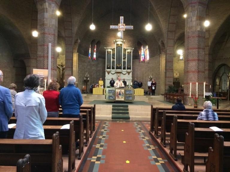 Augustinus vieringen in Aloysiuskerk
