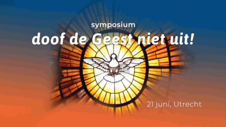 logo symposium Doof de Geest niet uit