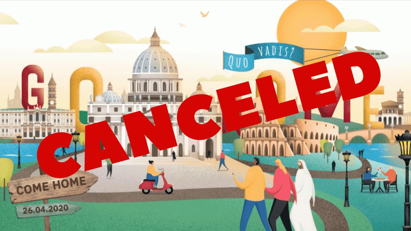 Rome canceled